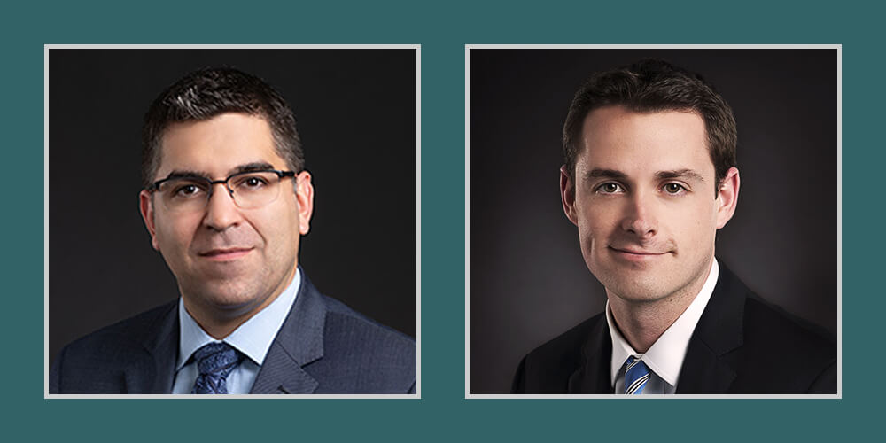 Dickinson & Gibbons Names New Partners Jesse R. Butler and Andrew L. Douberly