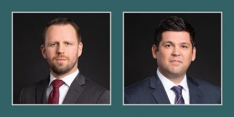 Mark S. Tomlinson & Andrew C. Wilson Join Dickinson & Gibbons, P.A.