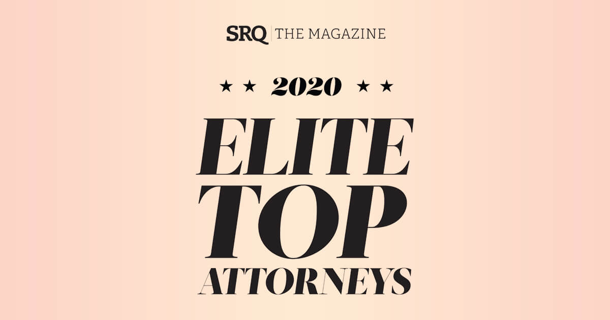 "Dickinson & Gibbons Attorneys Named ""2020 Elite Top Attorneys"" by SRQ Magazine"